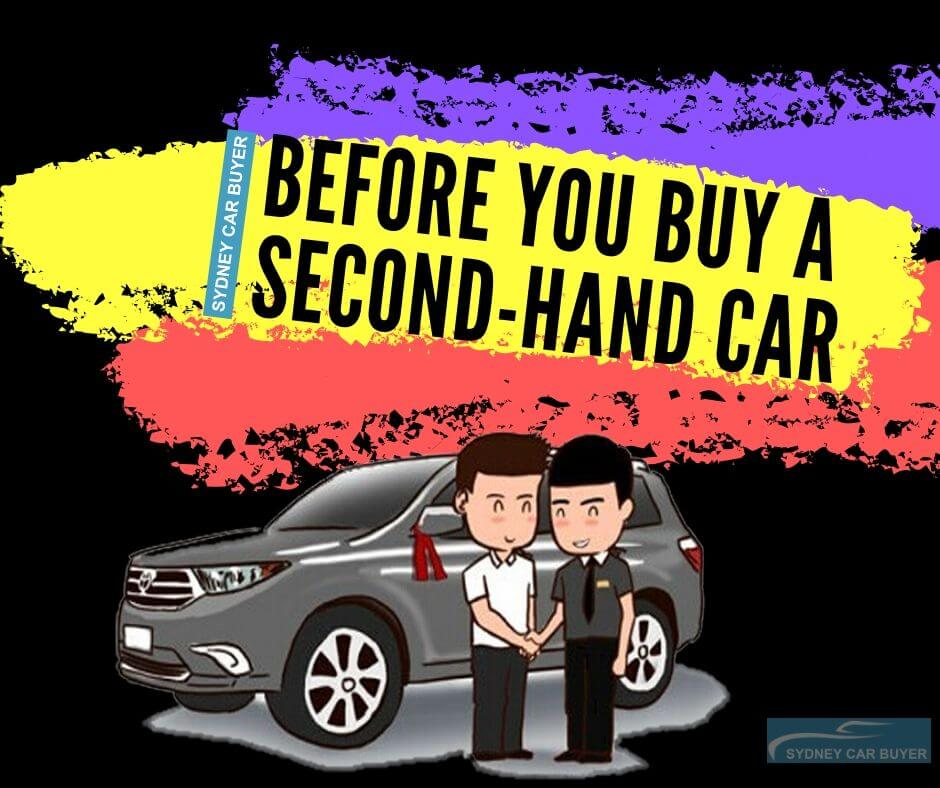 things to know when buying second hand car